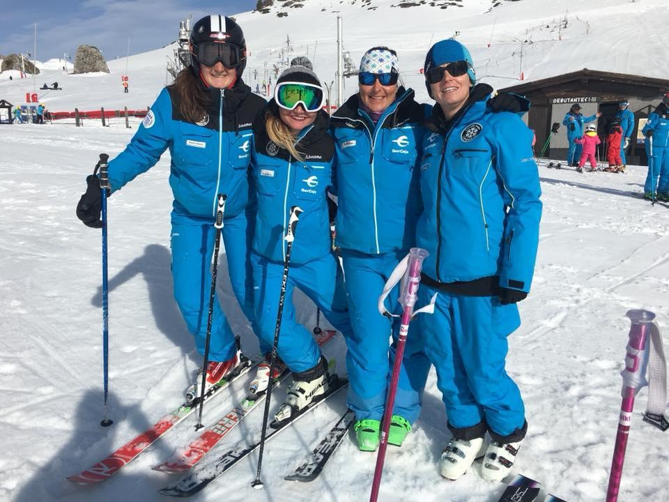 Lezioni di sci per adulti per avanzati