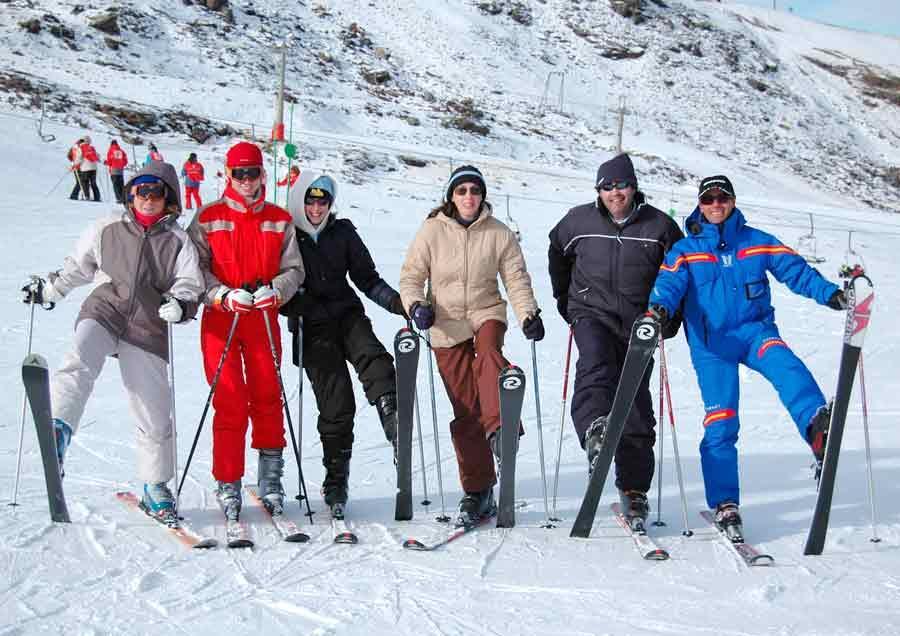 Skilessen voor volwassenen - licht gevorderd