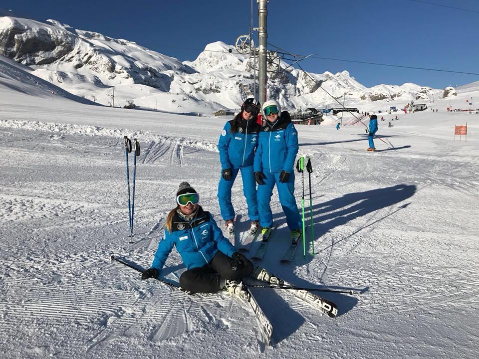 Lezioni di sci per adulti per principianti