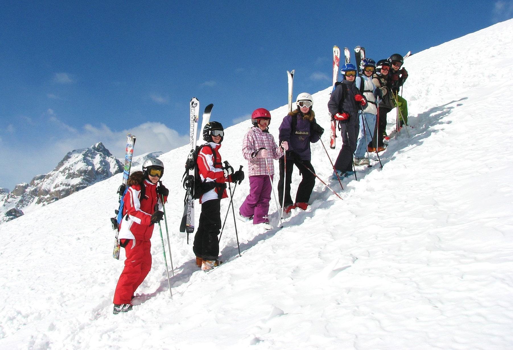 Skilessen voor kinderen vanaf 8 jaar - vergevorderd