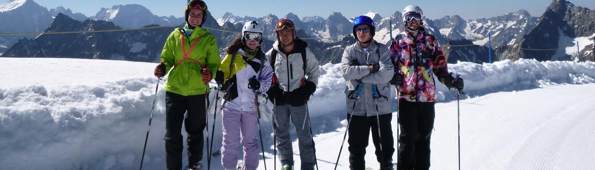 Ski Lessons for Teens & Adults - Afternoon