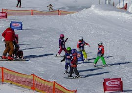 """Kids Ski Lessons """"Half Day"""" (from 4 years) for All Levels"""