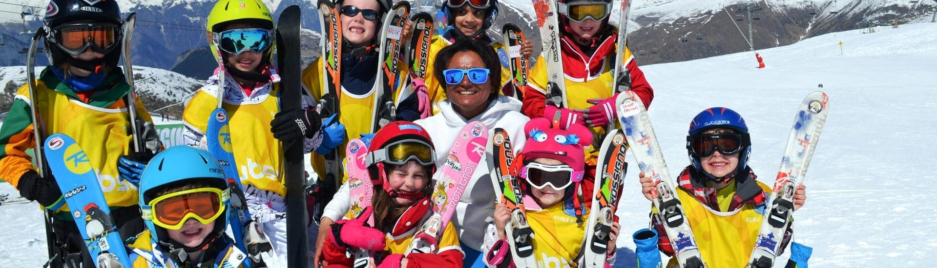 Kids Ski Lessons (4-5 years) - Afternoon