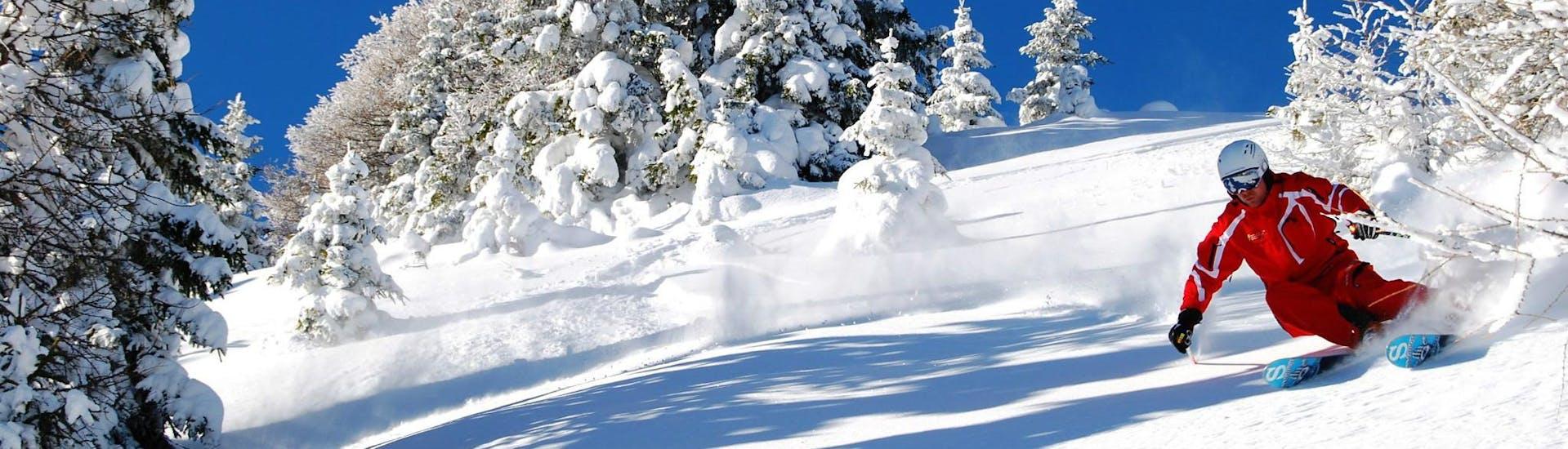 Curso de esquí para adultos con experiencia