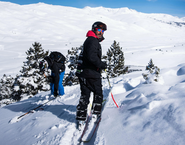 Moniteur de Ski Privé pour Adultes - Haute Saison