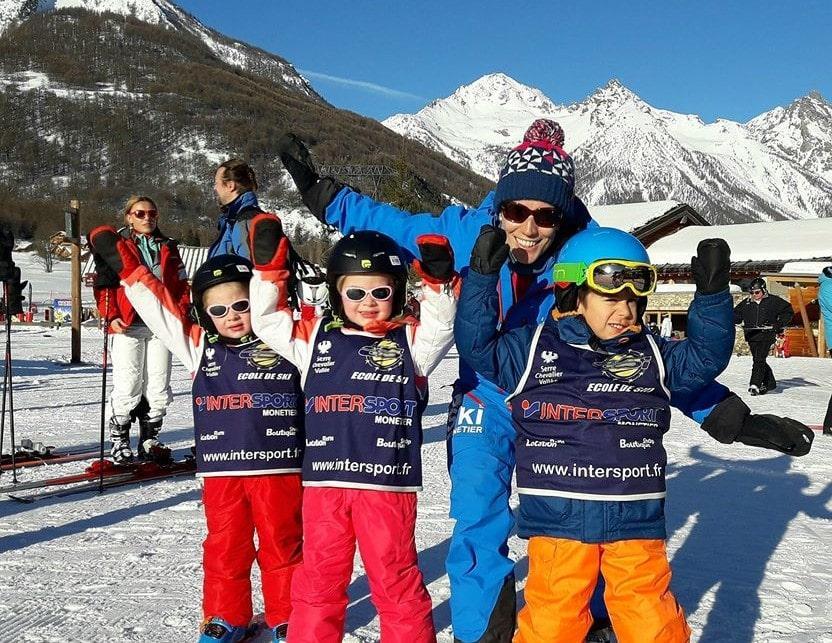 Cours particulier de ski Enfants (dès 4 ans) - Tous niveaux