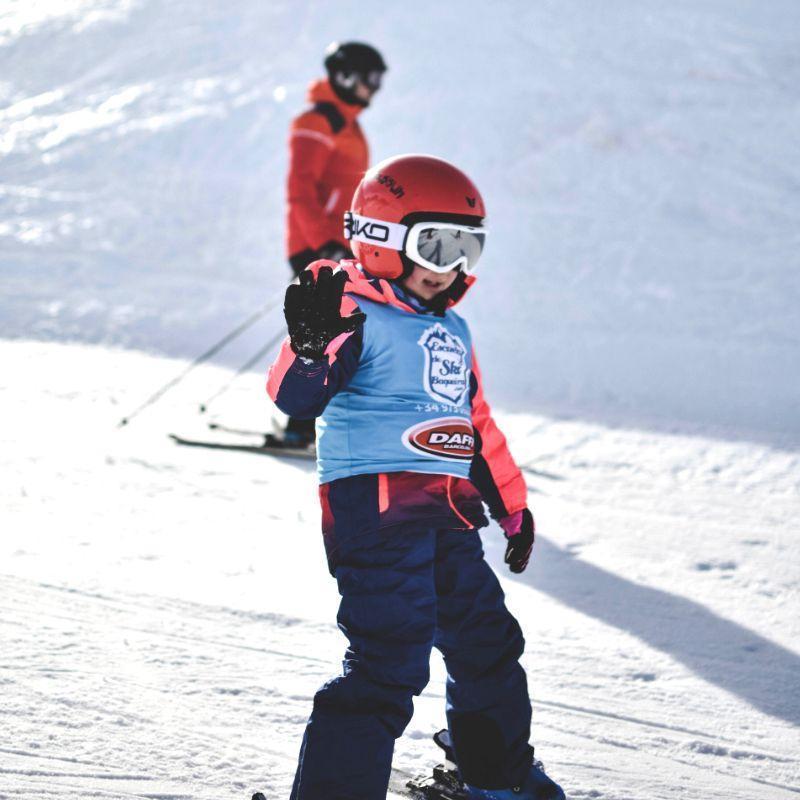 Moniteur de Ski Privé pour Enfants - Haute Saison