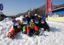 """Skikurs für Kinder """"Bambini"""" (3-5 Jahre) - Halbtags"""