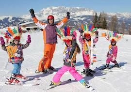 Skilessen voor kinderen - vergevorderd met Skischule Toni Gruber Alpendorf