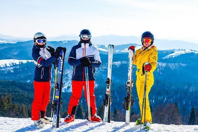 Skilessen voor volwassenen - Middag - Gevorderden