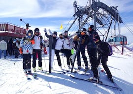 Ski Lessons for Adults - Afternoon - Holidays - All Levels
