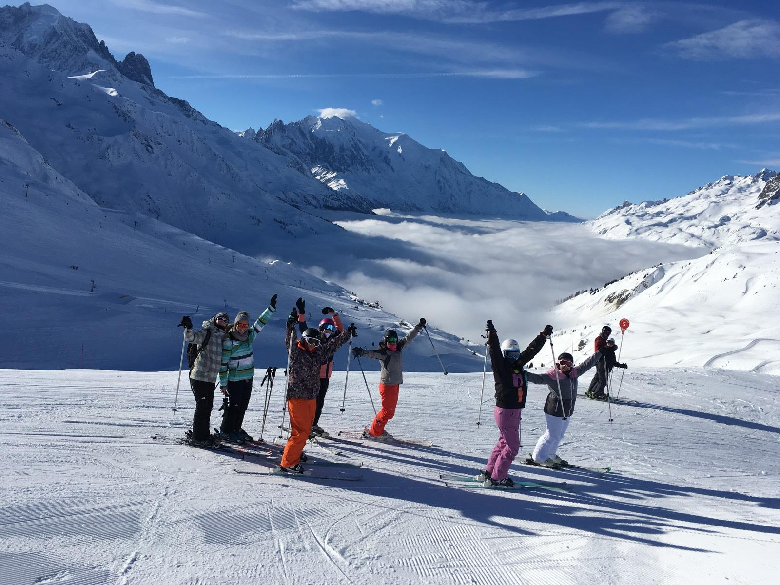 Cours de ski Adultes pour Tous niveaux à Chamonix