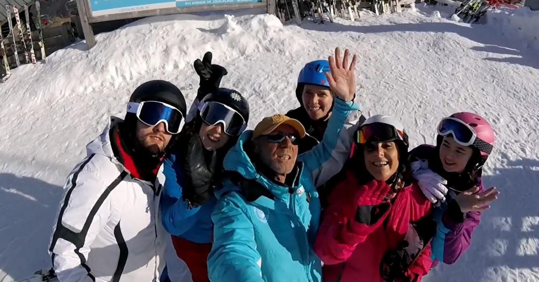 Premier Cours de ski Adultes - Après-midi