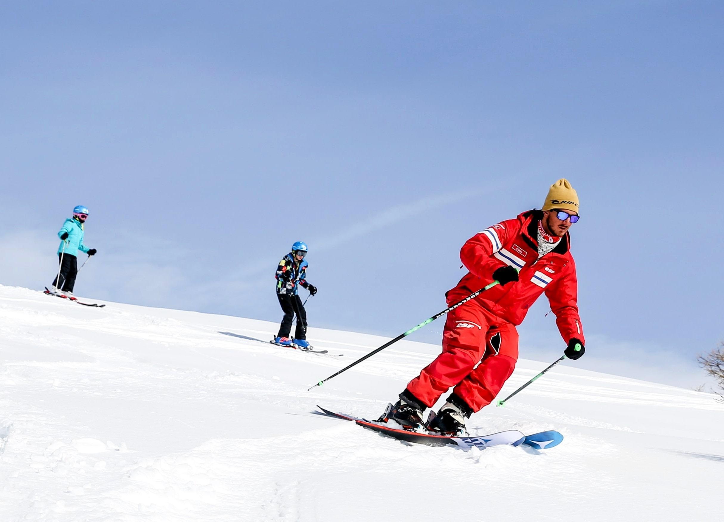 Cours de ski pour Adultes - Noël et avril - Après-midi