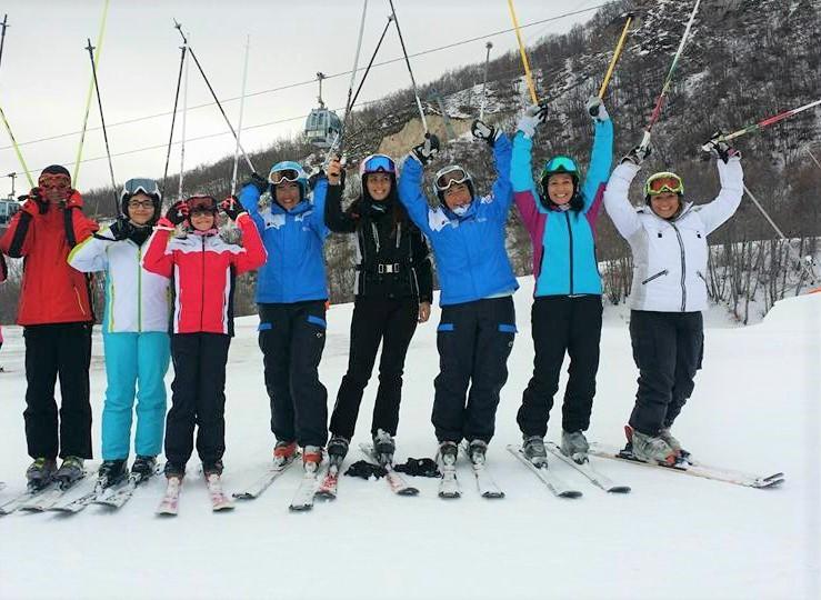 Clases de esquí para adultos a partir de 15 años para avanzados
