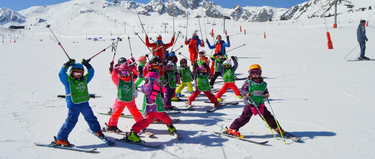 Skilessen voor kinderen vanaf 3 jaar voor alle niveaus