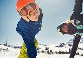 Skilessen voor kinderen vanaf 4 jaar - beginners met Scuola di Sci e Snowboard Dolomites La Villa