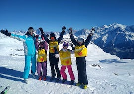 Ski Lessons for Kids (5-15 years) - Flaine - Morning