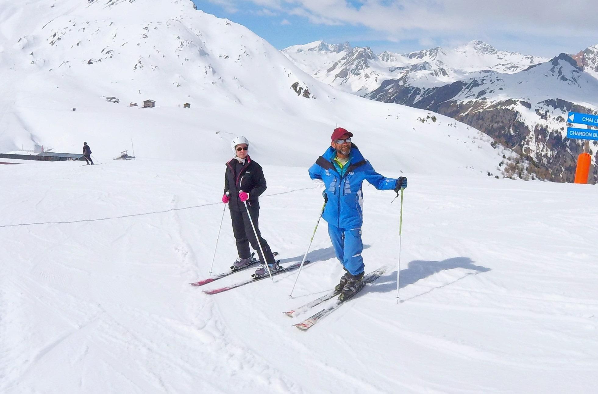 Cours de ski Ados & Adultes pour Tous niveaux