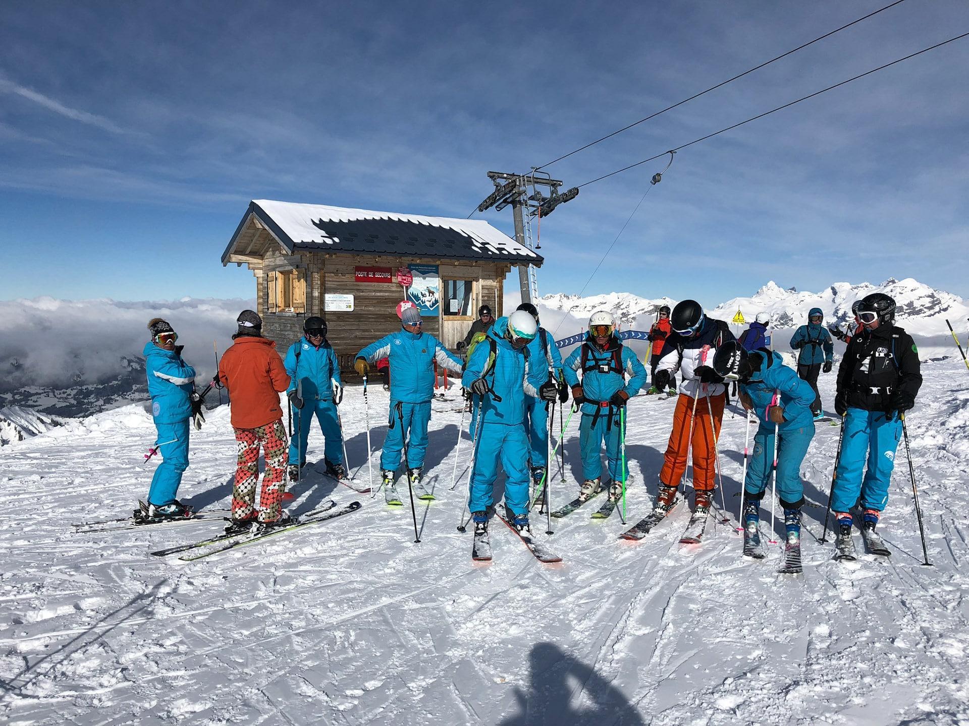 Cours de Ski Ados & Adultes - Flaine - Débutant - Après midi