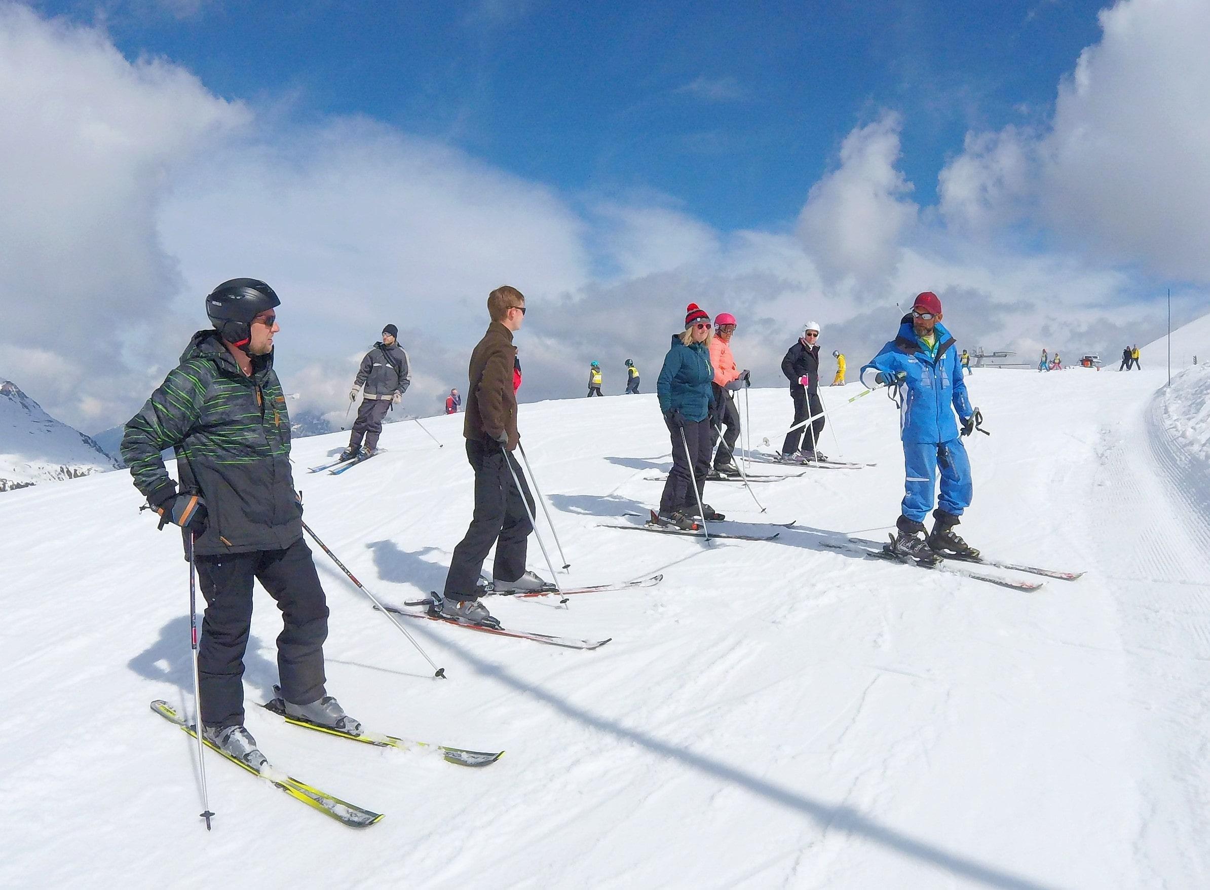 Cours de ski Ados & Adultes pour Tous niveaux - Vacances