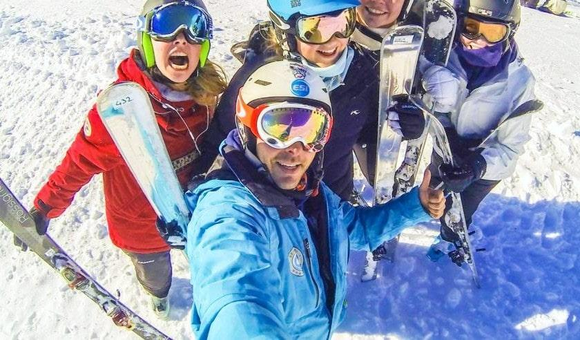 Cours de ski Ados (dès 13 ans) pour Skieurs expérimentés