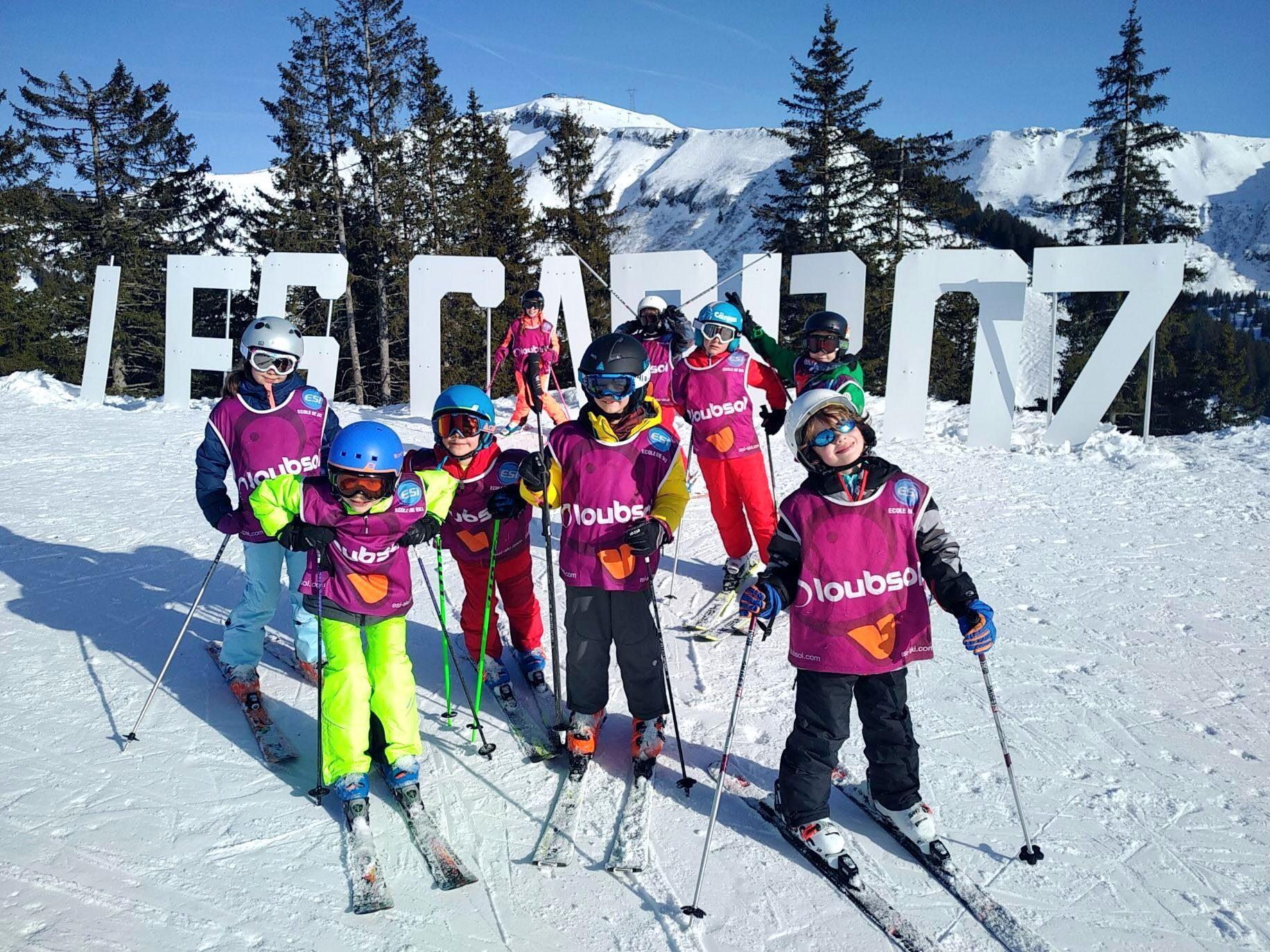 Cours de Ski pour Enfants (5-15 ans) - Les Carroz - Matin
