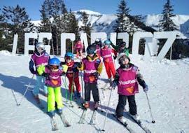 Kids Ski Lessons (4-15 y.) - Morning
