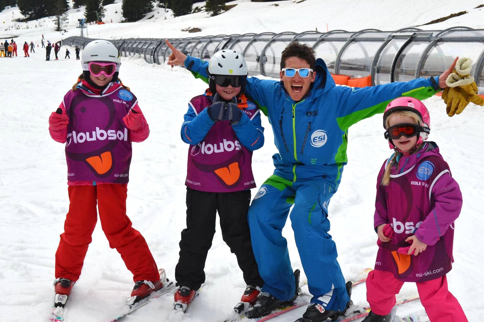 Cours de ski Enfants (6-12 ans) - Février