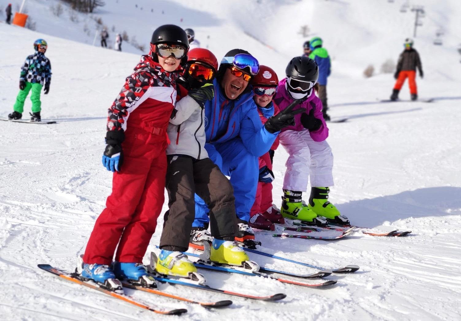 Cours de ski pour Enfants (6-11 ans)