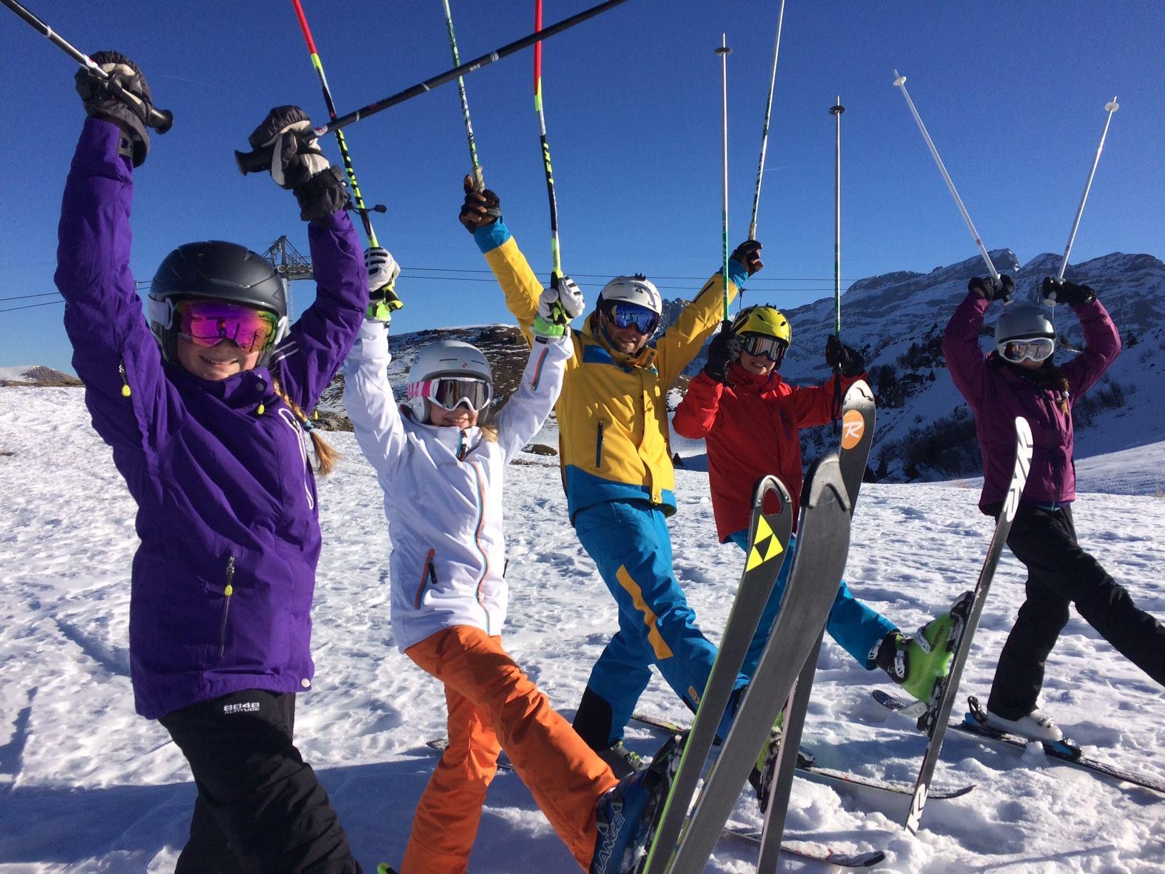 Cours de ski pour Enfants (3-16 ans) - Tous niveaux