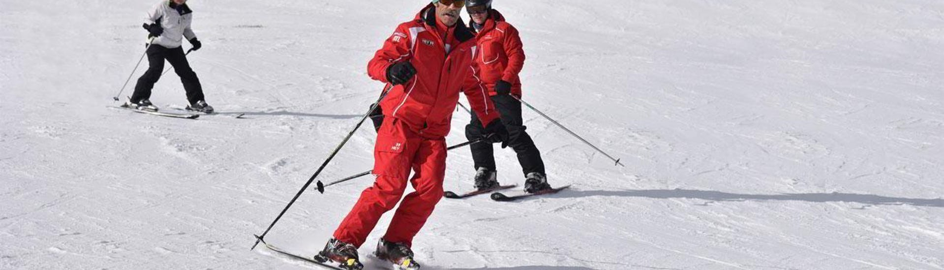 Ski Instructor Private for Adults - February - All Levels