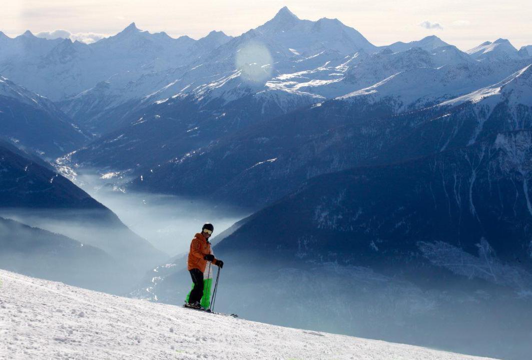 Clases de esquí privadas para adultos para avanzados