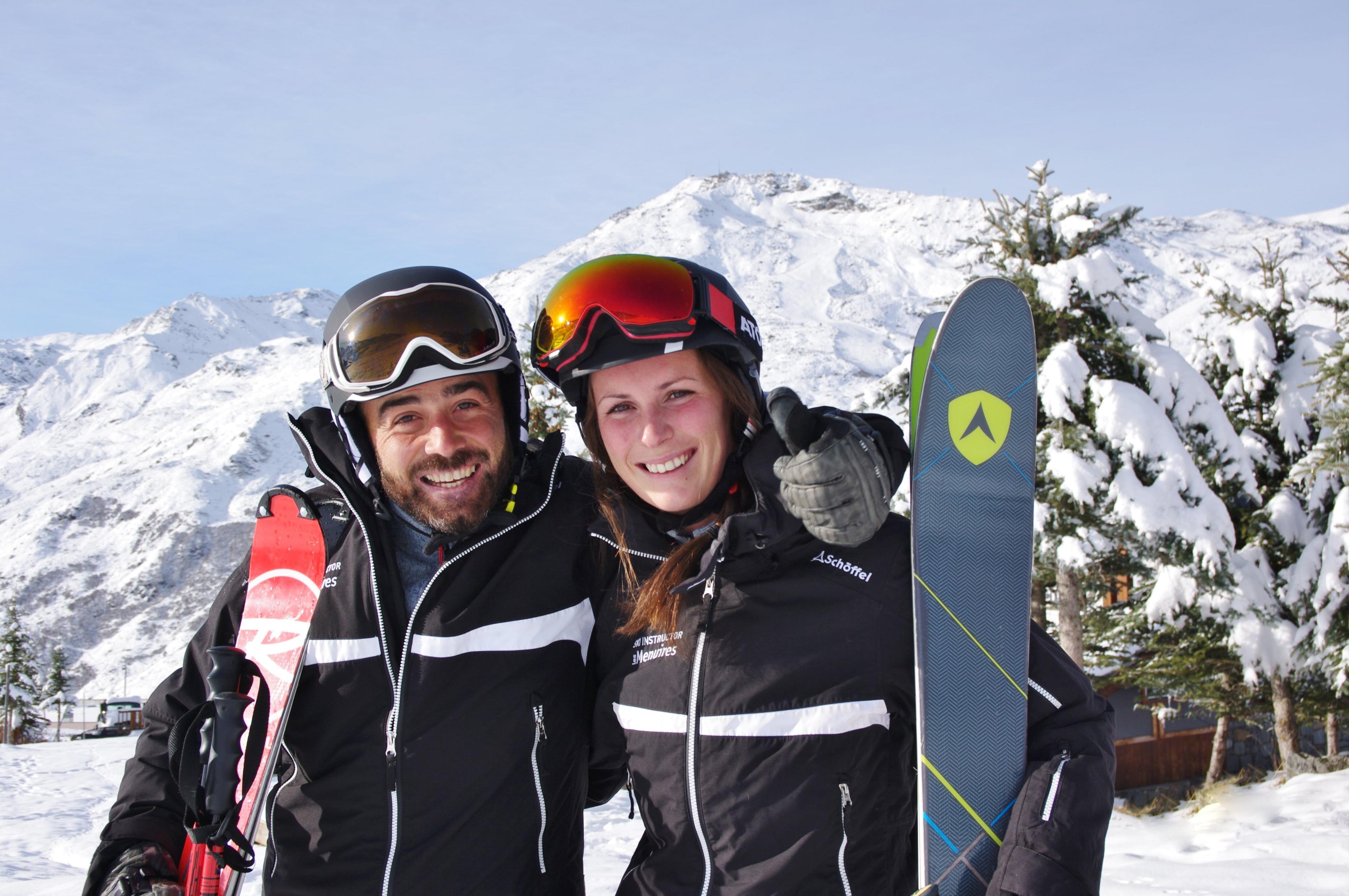 Cours particulier de ski pour Adultes - Tous niveaux