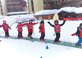 """Ski-Trial Lesson """"Piou Piou"""" (3-4 years) - Holidays"""
