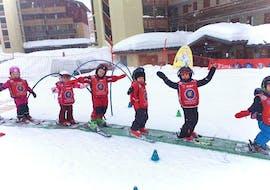 Skilessen voor kinderen vanaf 3 jaar - beginners met ESF La Plagne