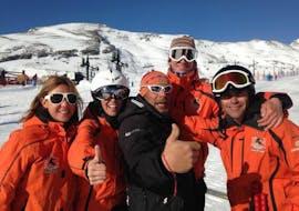 Privé skilessen voor volwassenen voor alle niveaus met Escuela de Esquí Slalom Alto Campoo