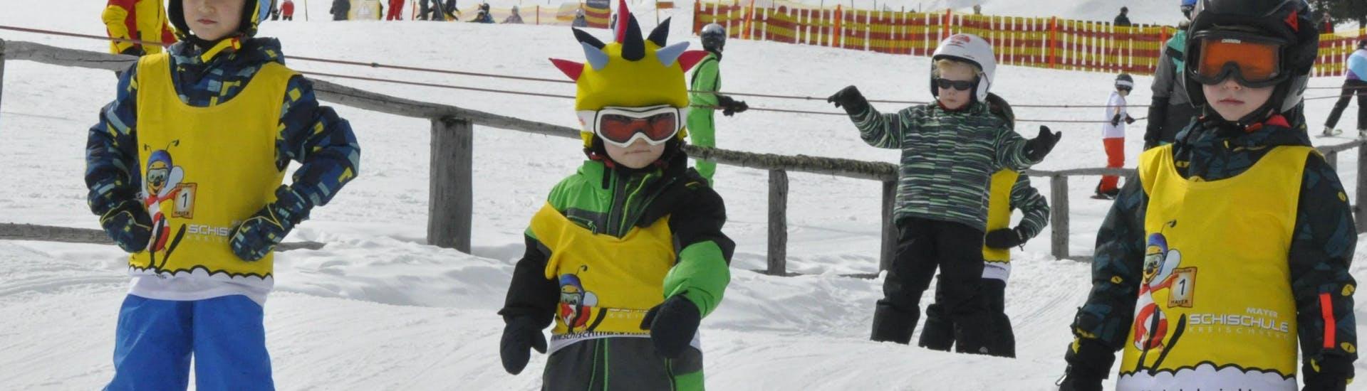 Kids Ski Lessons (4-12 y.) for Advanced Skiers
