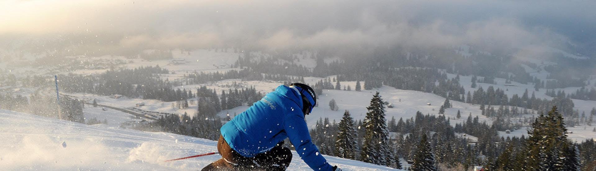 Private Ski Lessons for Adults of All Levels with Ski & Snowboard School Ostrachtal - Hero image