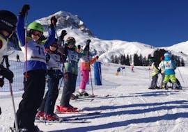Skilessen voor kinderen (5-14 jaar) voor Beginners met Ski- und Snowboardschule Warth