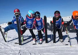 Kids Ski Lessons (6-12 y.) with ESF Courchevel Village