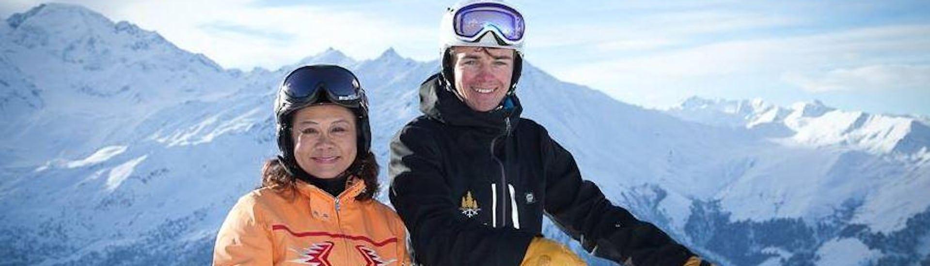 "Ski Lessons for Adults ""Clinic"" - Advanced - Nendaz"
