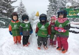 Kids Ski Lessons (3-4 y.) - Morning - Arc 1800