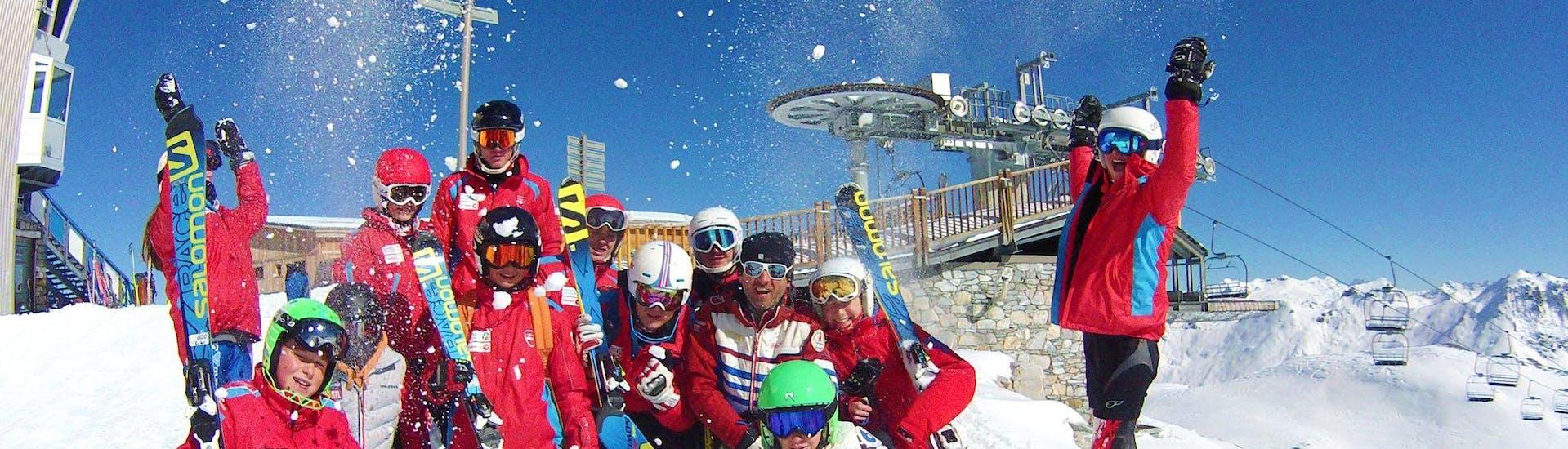 Cours de ski Ados (13-18 ans) - Vacances - Matin