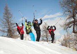 "Ski Lessons for Kids ""Clinic"" (6-17 y.) - Advanced - Nendaz"