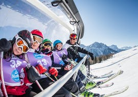 Ski Lessons for Kids (4-12 years) - Full Day - All Levels