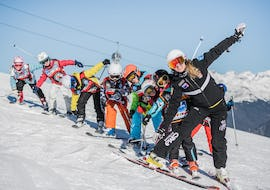 Ski Lessons for Kids (4-12 years) - Half Day - All Levels