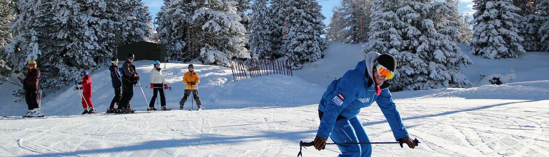 Small Group Ski Lessons for Adults - Beginner
