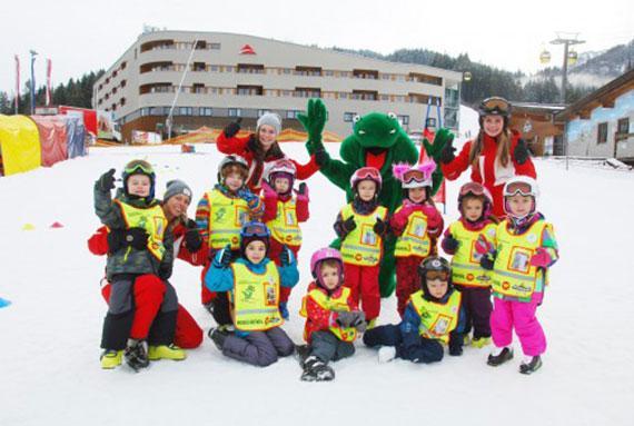 """Skilessen voor kinderen """"Tatzi's Skicircus"""" (3-14 jaar)"""