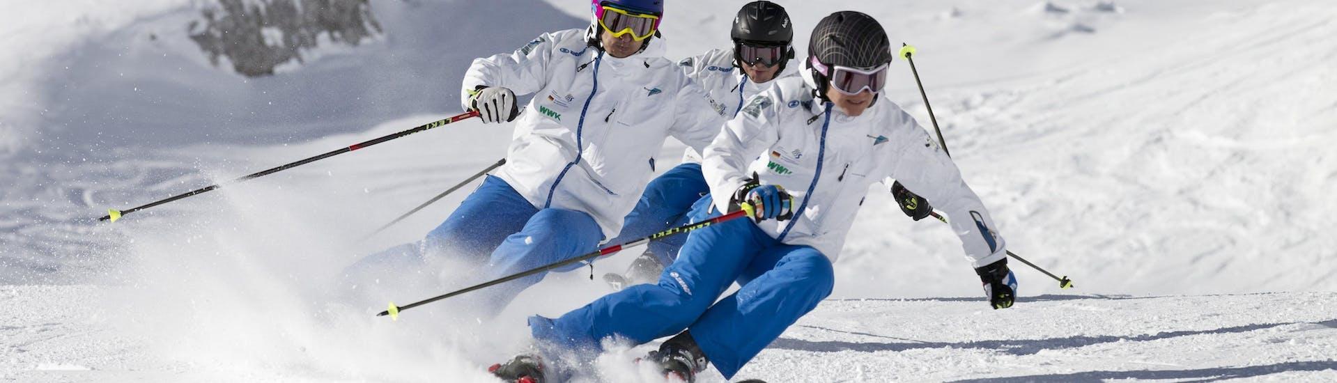 Cours particulier de ski Adultes pour Tous niveaux avec Kristall Schischule - Hero image
